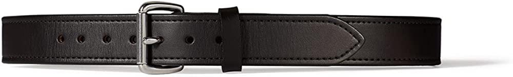 Stainless Brown Filson 1.5 Inch Double Belt