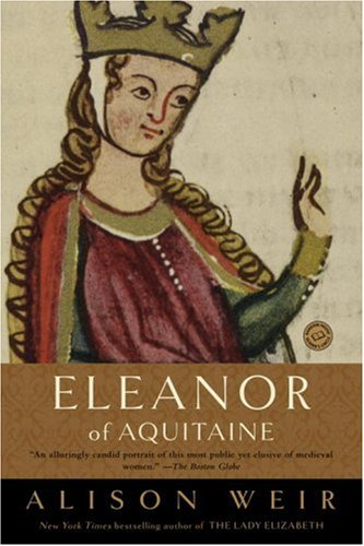 Book cover for Eleanor of Aquitaine: A Life