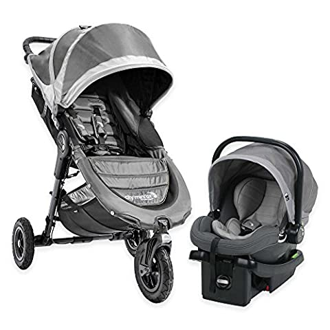Baby Jogger 2016 City Mini GT Travel System in Steel Grey