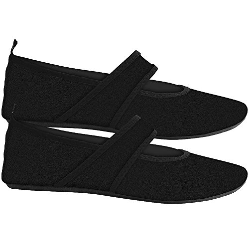 Futsole The Perfect Travel Shoe 4-Way Stretch Upper w/Skid Resistant Soles SM by CALLA HOLDINGS INC (Image #1)