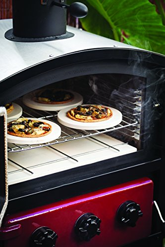 Alfresco Home 82-1004 Fornetto Alto Wood Fired Oven & Smoker for Built-In Use, Brick by Alfresco Home (Image #9)