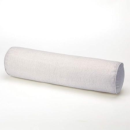 La almohada cervical redonda proporciona una alineación ideal de la columna vertebral y una postura