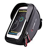 Bike Frame Bag, EletecPro Cellphone Bag Bike Waterproof Front Top Tube Bicycle Touchscreen Saddle...