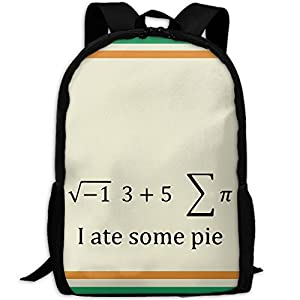 Funny Math Puns Unique Outdoor Shoulders Bag Fabric Backpack Multipurpose Daypacks For Adult