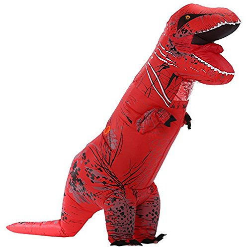 Toddler Centaur Costume (Unisex Jurassic T-Rex Inflatable Costume Dinosaur Fancy Dress (red))