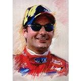 Jeff Gordon NASCAR 24 poster print auto racing RARE - 11x17