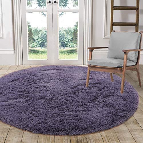 LOCHAS Luxury Round Fluffy