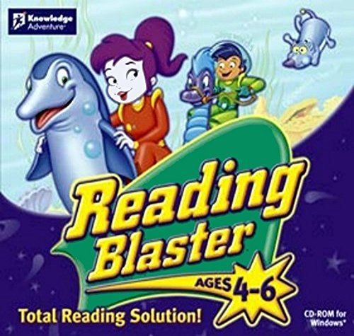 Knowledge Adventure Reading Blaster - Reading Blaster, Ages 4-6