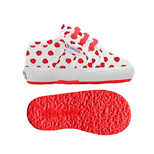 Le Superga - 2750-fantasy Cotb - Bambini PUFFERFISH WHITE-RED