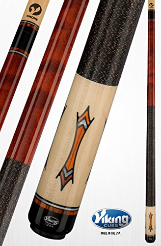 Cocobolo Joint (Viking A376 Pool Cue Stick 24 Central American Cocobolo, Black (IMA) and White Premium Pearl Inlays & Rings - Quick Release Joint ViKORE Shaft 18, 18.5, 19, 19.5, 20, 20.5, 21 oz. (19.5))