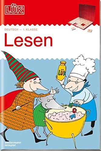 LÜK-Übungshefte / Deutsch: LÜK: 1. Klasse - Deutsch: Lesen