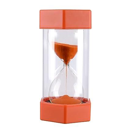amazon com 5 minutes plastic on time sandglass hourglass sand timer