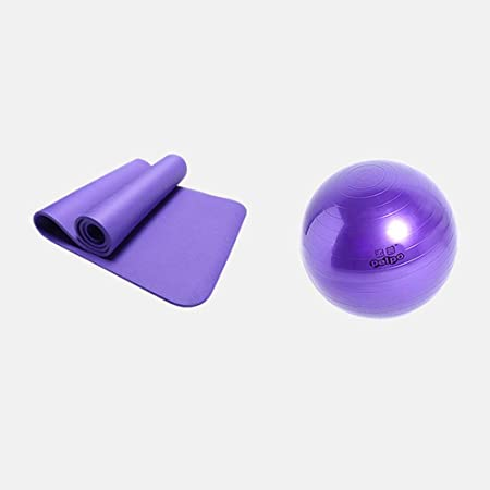 Q.AWOU Bolas de Ejercicio, Yoga Yoga Ball/Yoga Mat/Fitness ...