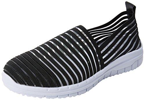 Cordones Negro Mujer XTI Zapatillas sin para Black 48059 XxYat