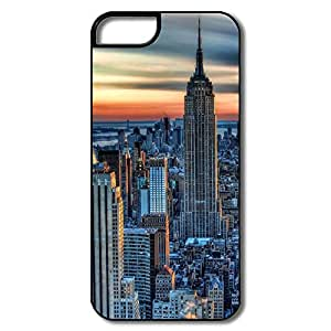 IPhone 5 5s Case Skin New York City HDR - Custom Funny IPhone 5 5s Cover For Couples