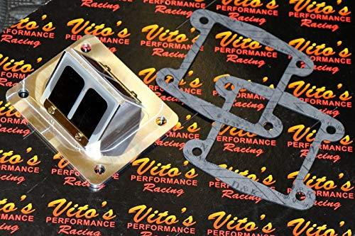 Vito's Performance Billet Bullseye Reed Cages/Carbon Flex Reeds Blaster 200