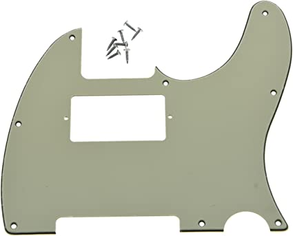 Pickguard For Humbucking Fender Tele MANY COLORS /& VARIETIES! NEW 8 Holes