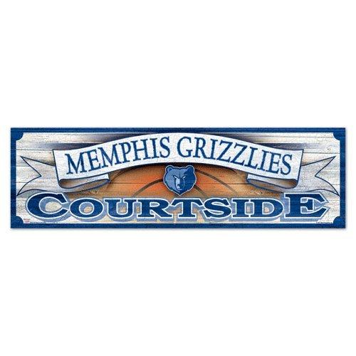 UPC 032085607607, Memphis Grizzlies 9x30 Wood Sign