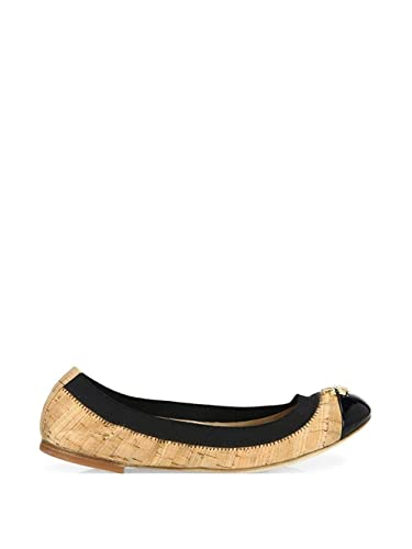 7ddc9786b Image Unavailable. Image not available for. Color  Tory Burch Women s Jolie  Cork Ballet Flats ...