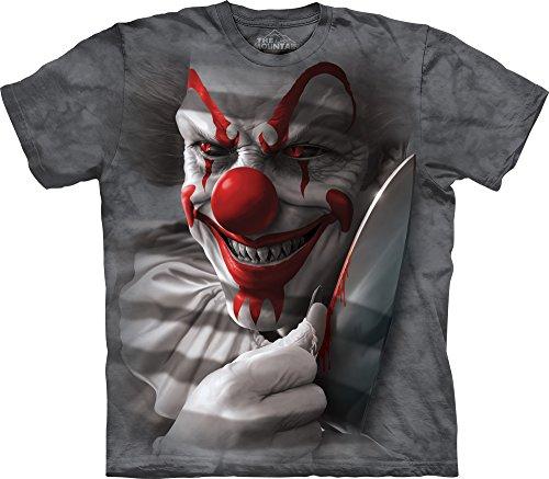 Nexxus The Mountain Clown Cut T-Shirt, 5X-Large, Gray