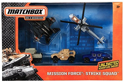 MATCHBOX SKY BUSTERS MISSION FORCE STRIKE SQUAD (Busters Sky)