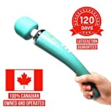 Spot on! wand massager, cordless rechargable wireless handheld Therapeutic neck and back deep
