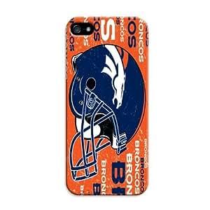 Personalized Monogram iphone 5c Case iphone 5c Tpu Back Cover Denver Broncos Football Nfl
