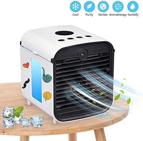 Aire acondicionado portátil 5 en 1, refrigerador de aire USB ...