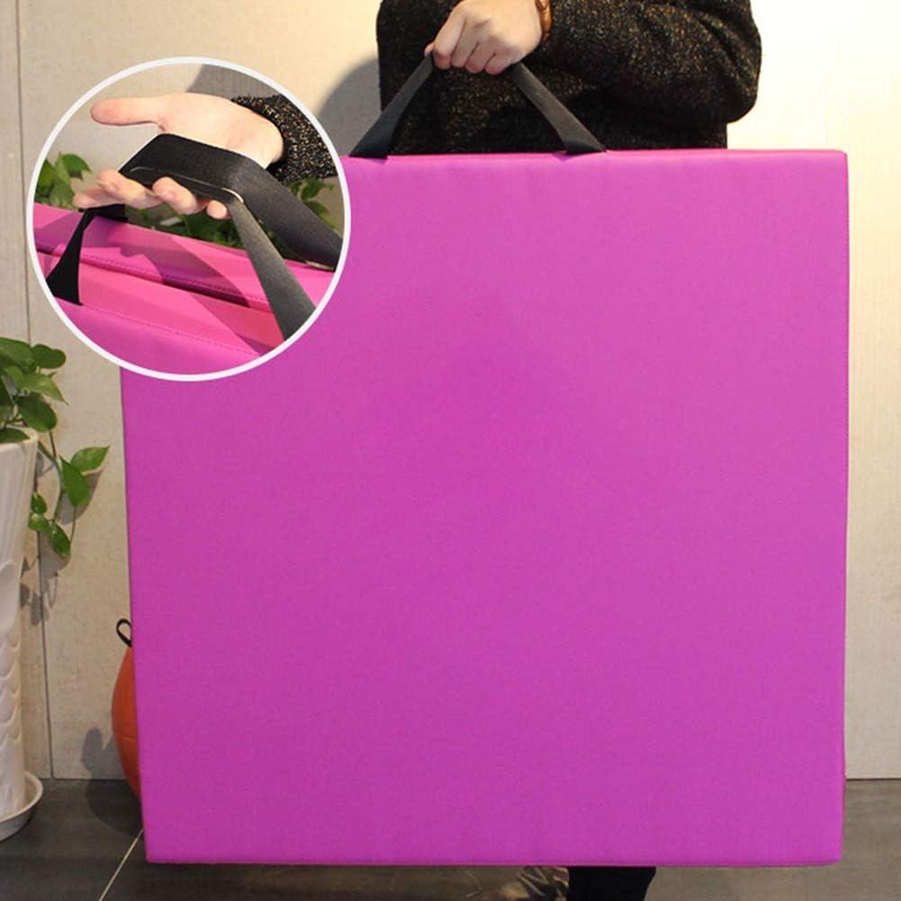 5 Taglie GUORRUI Tappetino per Ginnastica Artistica Nessun Statico Panno di Oxford Casa Campeggio Tappetini per Gli Esercizi Tappetino Pieghevole da Allenamento Buffering Elevato