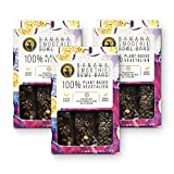 Ipanema Valley Smoothie Bowl Bars - Banana w/ Mango & Passion Fruit Seeds - 3 Pack (12 Bars) Plant Based Gluten Free Healthy Snacks for Adults   Breakfest Bar Alternative