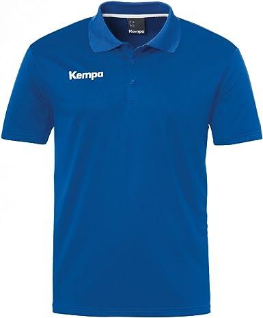 Kempa Poly Polo, Camiseta para Hombre, Azul (Royal), XXL