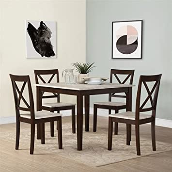 Amazon.com - Tilley Rustic 5 Piece Dining Set by Andover ...