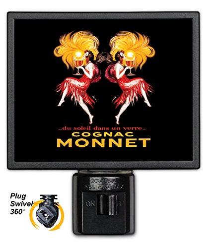 Art Plates NL-309 Cognac Monnet Night Light