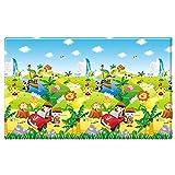 Dwinguler Non toxic playmat / Baby Toddler Kids Children Soft Play Mat / Safe Crawling Mat - Safari (Large)