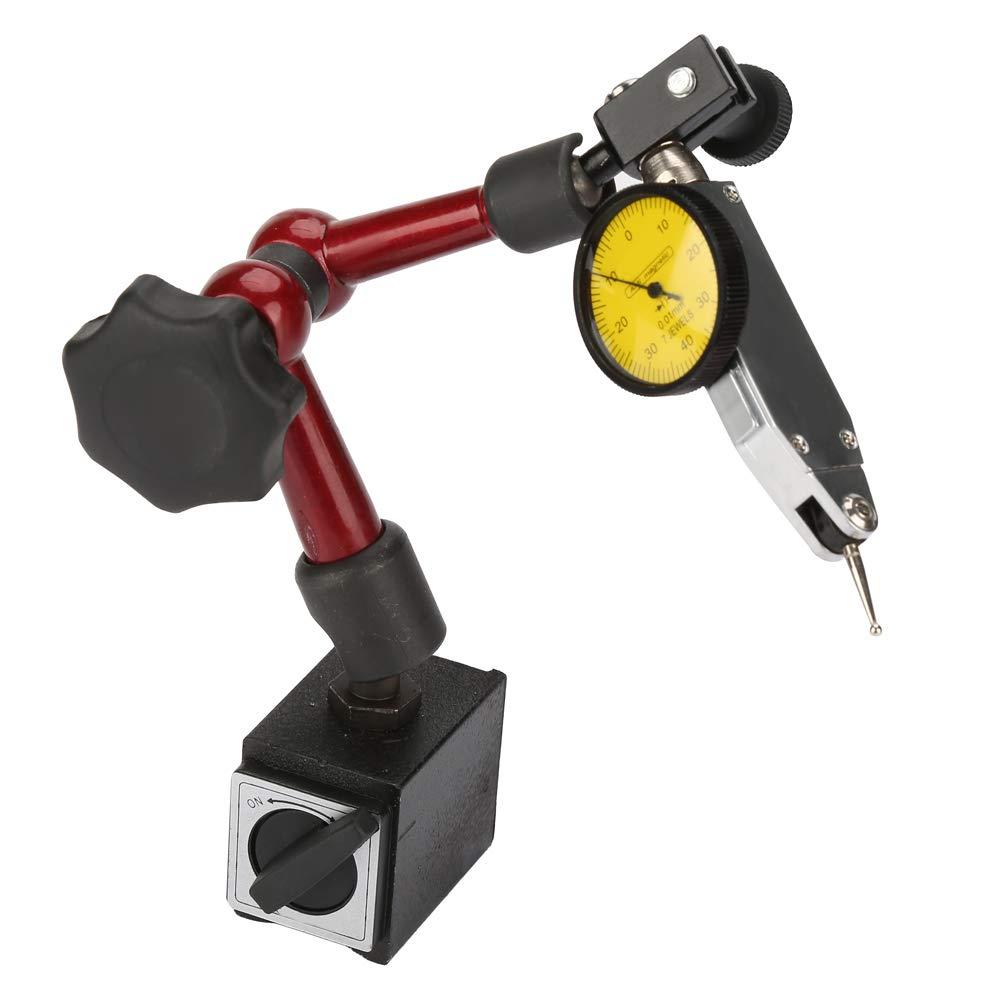 Dial Gage Holder Strong Magnetic Base Adjustable Test Indicator Stand 120kg