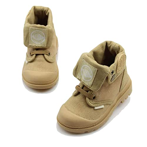d20601be3 Zapatillas para niños Unisex Zapatos de Lona Altos Botas Martin cómodas  Botas Militares Ocasionales  Amazon.es  Zapatos y complementos