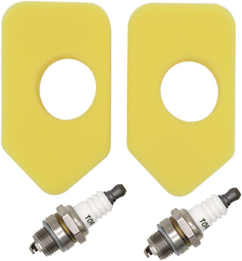 Sprint y Quattro Motores cl/ásicos SWNKDG Muelles de regulador y Filtro de Aire de Espuma Amarilla para Briggs /& Stratton