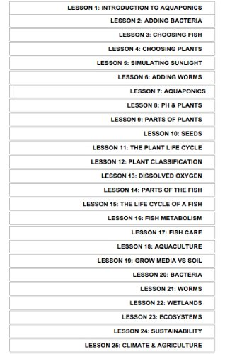 Aquaponics Complete Curriculum Set by Aquaponic Sourc (Image #2)