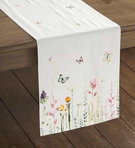 Maison d' Hermine Botanical Fresh 100% Cotton Table Runner 1