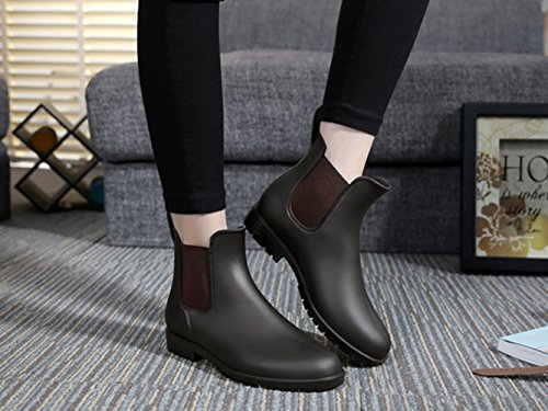 Femme Bottines de Chelsea Pluie Imperm Boots pour tBxqnEgwST
