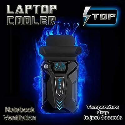 Buuple Cooler - Ventilador para Ordenador portátil, Color Negro ...