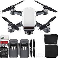 DJI Spark Quadcopter (Alpine White) + DJI Spark Bag Essential Bundle