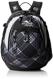 High Sierra 5420-31 19.5x13x7-Inch Fat Boy Backpack (Black Plaid)