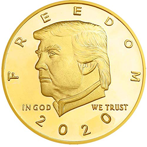 24k Commemorative Coin - Donald Trump 2nd Amendment 2020 Coin - 24K Gold Plated Commemorative Collectors Edition. Stunning Proof Coin in Acrylic Capsule and Velvet Bag. Trump Second Amendment Challenge Coin