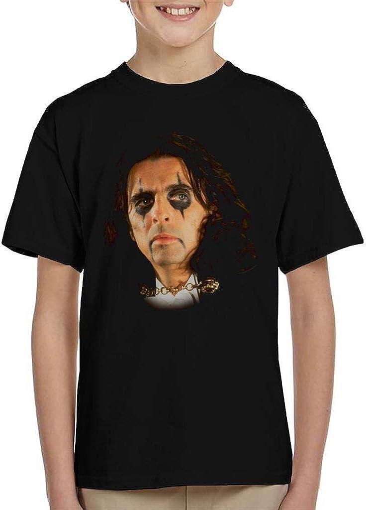 TV Times Alice Cooper Rock Singer Kids T-Shirt