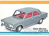 1976 ? Fiat 125 Brochure German