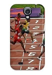 Cute Tpu ZippyDoritEduard Usain Bolt Running Case Cover For Galaxy S4