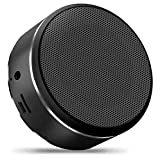 Mini Portable Speaker Portable Wireless Bluetooth Speaker with Built-in-Mic, Handsfree Call,AUX Line,TF Card,HD Sound and Enhanced Bass for iphone, ipad,PC,Cellphone(Black)
