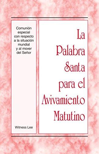 Palabra Santa para Avivamiento Matutino ebook product image