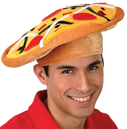 [Italian Pizza Hat Party Accessory (1/pkg) Pkg/3] (Costumes Pizza Hat)